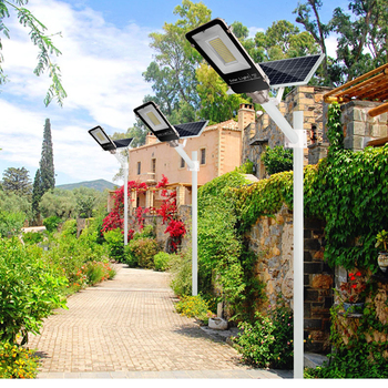 Led Solar Street light Outdoor Led Solar Light Waterproof Solar Panel Remote Control 100 W Solar Led Street Light Garden Lamp 5