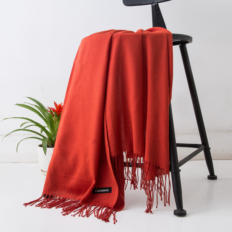 HTB1k9i4XoLrK1Rjy0Fjq6zYXFXaO - Women solid color cashmere scarves with tassel lady winter autumn long scarf high quality female shawl hot sale men scarf