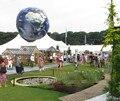 AO359 Frete grátis grande inflável terra forma globo inflável balão de hélio/balão Gigante Terra De Publicidade Balão de Hélio para venda