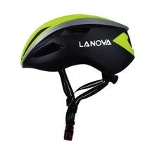 цена на LANOVA Adults Men Women Professional MTB Mountain Road Bike Helmet Bicycle Helmet Casco Ciclis W-018 L Riding Cycling Helmet