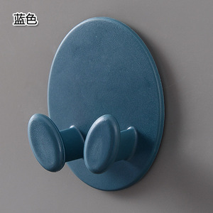 Image 5 - 1 Piece  Creative Shape Strong Hook Adhesive Multi Purpose Hooks Wall Mounted Mop Organizer Holder Plug Kitchen Bathroom Hooks
