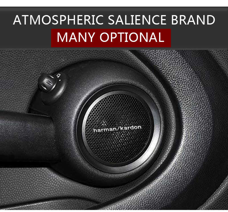 Excelente-car styling car audio decore fit Para Ceed Cerato Optima Rio K2 K3 K4 K5 Sportage R Carro acessórios decalque Do Carro Styling