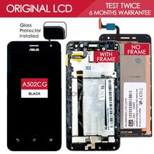 Original Brand Black TFT IPS 1280×720 LCD For Asus Zenfone 5 LITE A502CG LCD Display Touch Screen with frame Digitizer Assembly