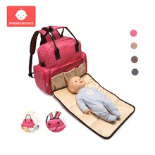 Multifunctional Mummy Bag Backpack Large Capacity Baby Diaper Bag With Nappy Changing Pad Waterproof Newborn Travel Nursing Bags heine multifunctional diaper bag for mother baby nappy bag backpack large capacity mummy bag with changing pad stroller straps