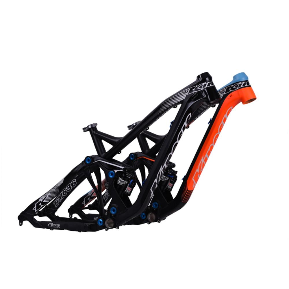 KINESIS TFM636 27.5 650B Soft Tail Mountain Bike Suspension Bike Rack AM ENDURO 6061aluminum Bicycle Frame