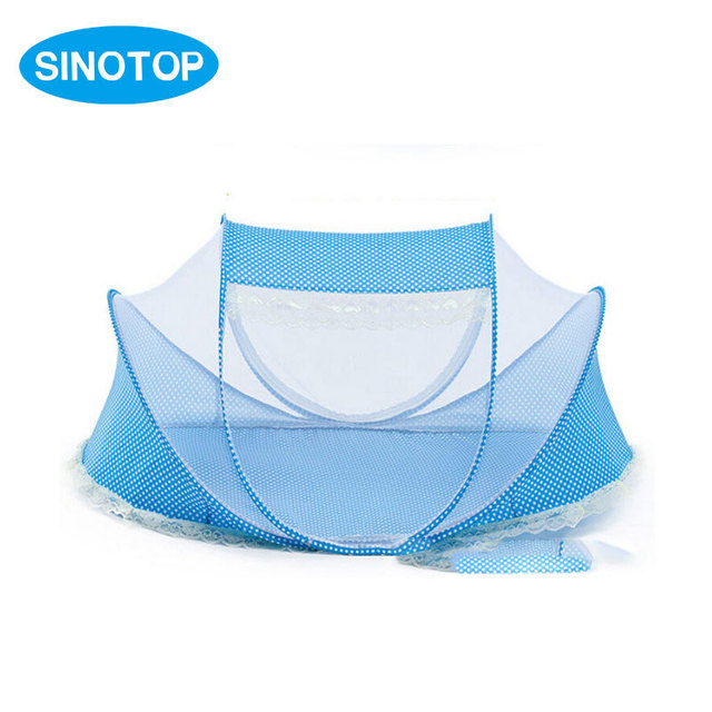 Infantil Folding Mosquito Nets and Insect Repellent Thick Bottom Sponge Portable Crib Baby Bed Sleeping Tent  sc 1 st  AliExpress.com & Infantil Folding Mosquito Nets and Insect Repellent Thick Bottom ...