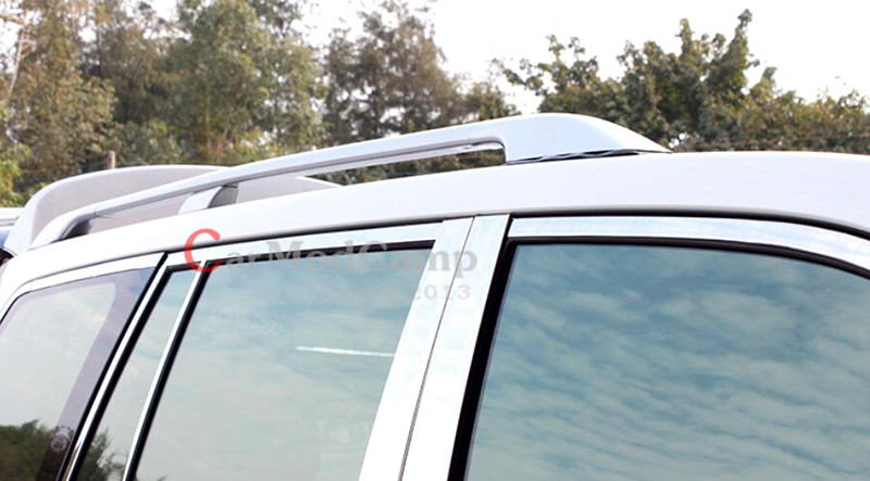 Metal Roof Rack Rails Bars Carrier Set Silver For Toyota Land Cruiser 200  LC200 2008 2016 Car Accessories Styling! In Interior Mouldings From  Automobiles ...