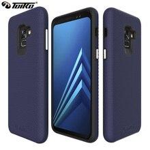 TOIKO X Guard 2 en 1, fundas híbridas para Samsung Galaxy A8 2018, carcasa trasera A530 SM A530F 2018, carcasa de PC de doble capa de TPU para teléfono móvil