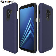 TOIKO X Guard 2 in 1 Hybrid Cases for Samsung Galaxy A8 2018 Back Cover A530 SM A530F 2018 Dual Layer PC TPU Mobile Phone Shell