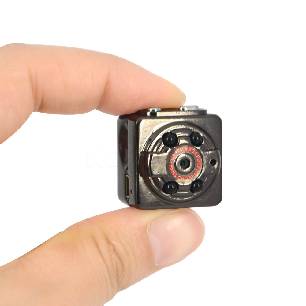 imágenes para 2016 Nueva Ultra Mini Cámara Del Coche DVR DV Videocámara SQ8 Video Recorder DVR apoyo TF tarjeta de Cámara Protable para Cualquier coche