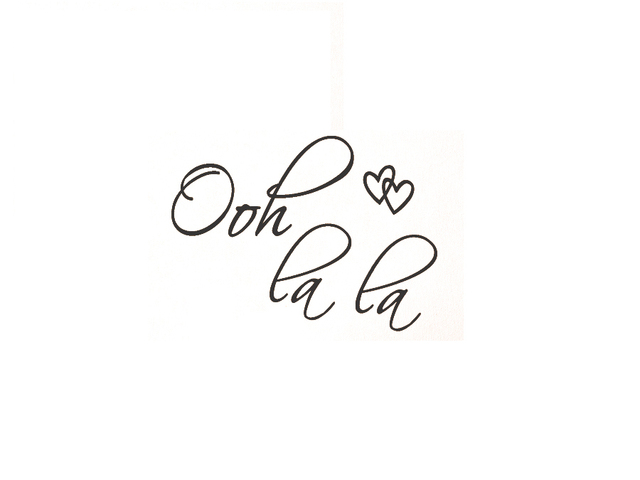 ooh la la paris france hearts love quote vinyl wall decal decor art rh aliexpress com Ooh La La Clip Art Clothing Paris Cafe Clip Art