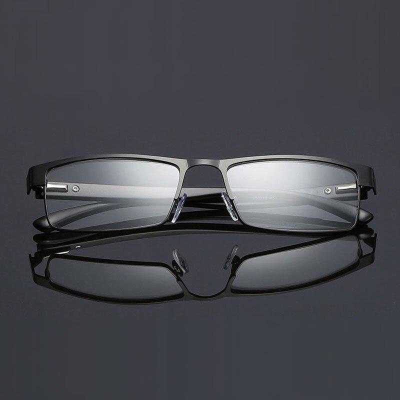 070 Cerchio Pieno Occhiali Ottici Lega di Metallo di Qualità Uomini Prescrizione di Occhiali Da Lettura + 1.0 + 1.5 + 2.0 + 2.5 + 3.0 + 3.5 + 4.0
