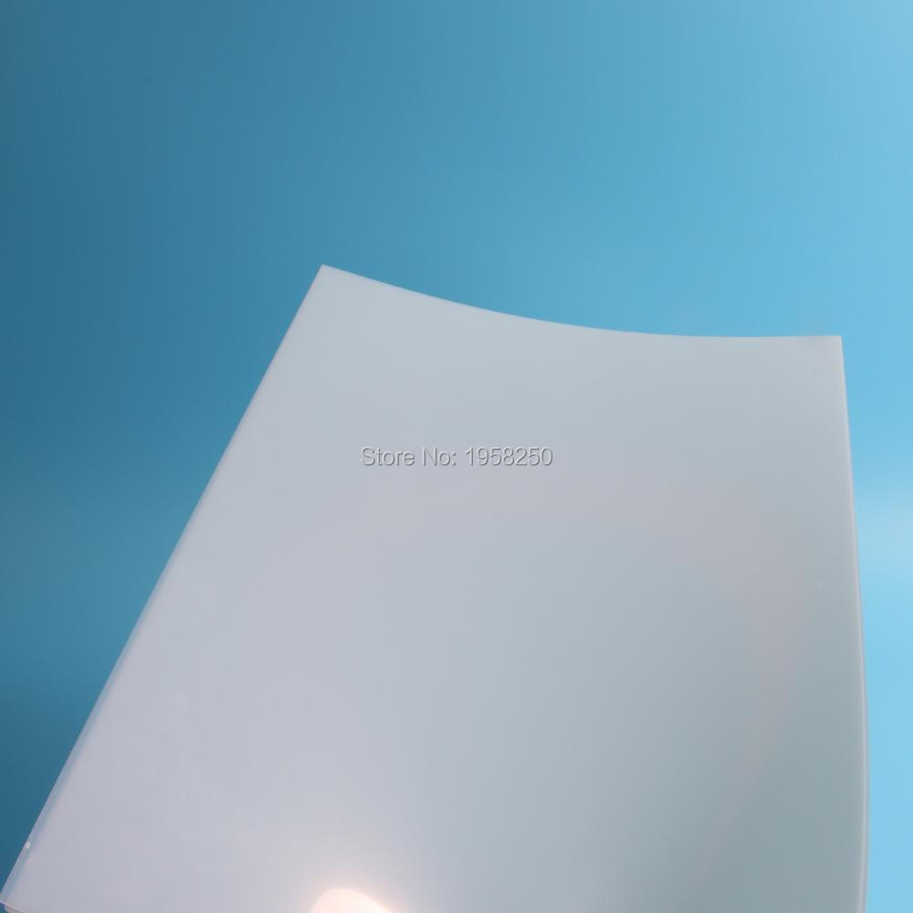 Free Shipping PP 10 Sheets A4 Size Matt Satin (210x297mm) Book Cover Materials Mylar Thickness 0.25MM 10Mil