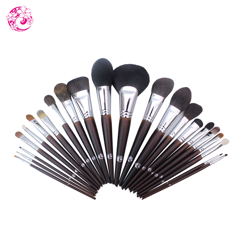 ENERGY Brand Professional 22pcs Makeup Goat Hair Brush Set Make Up Brushes +Bag Brochas Maquillaje Pinceaux Maquillage tm1 цена 2017