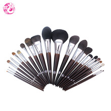 ENERGY Brand Professional 22pcs Makeup Goat Hair Brush Set Make Up Brushes +Bag Brochas Maquillaje Pinceaux Maquillage tm1