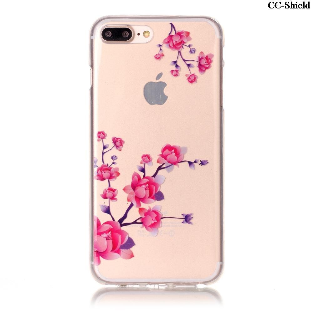 Fitted TPU Case for Apple 7 Plus iPhone 7plus 5.5 inch fashion Soft Silicone Phone Case for i Phone7 iPhone7 plus iPhone7plus