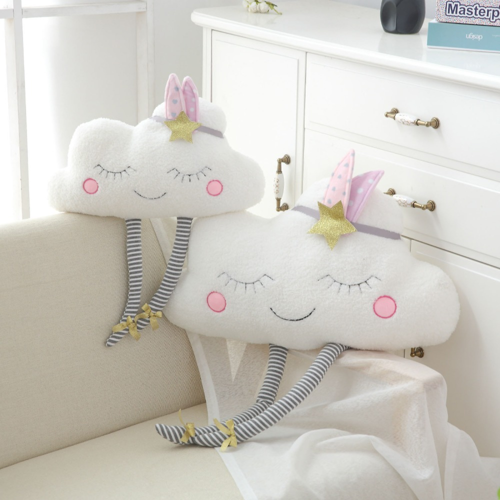 Sunny 2019 New Arrival Ins Nordic Style Rainbow Cuddle Plush Pillows Toy Star Moon Cushion Home Sofa Decoration Girls Gifts Toys & Hobbies