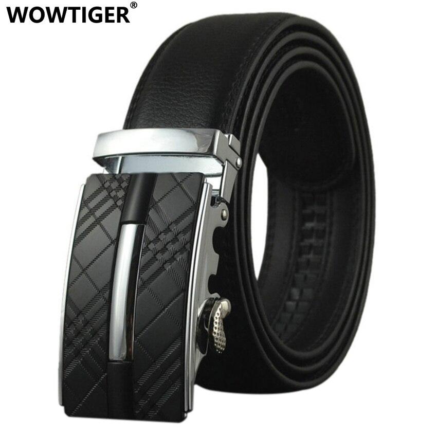 WOWTIGER New Belt Hot Man Famous Designer Brand Designer Modeli Dekorativ Lëkurë burra rripa Luksoze të Modës Luksoze për burra