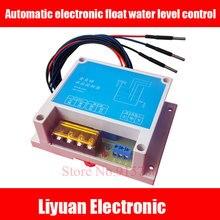 1 adet Otomatik elektronik şamandıra su seviye kontrolü modülü/seviye tankı su deposu su kulesi pompası pompası alarmı anahtarı denetleyicisi
