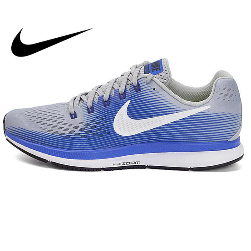 e17444258cb Original Authentic NIKE AIR ZOOM PEGASUS 34 Men s Running Shoes Sneakers  Lightweight Non-slip Breathable