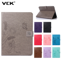 For Apple IPad 2 IPad 3 IPad 4 Pattern TPU Flip Leather Case Stand Ultra Thin