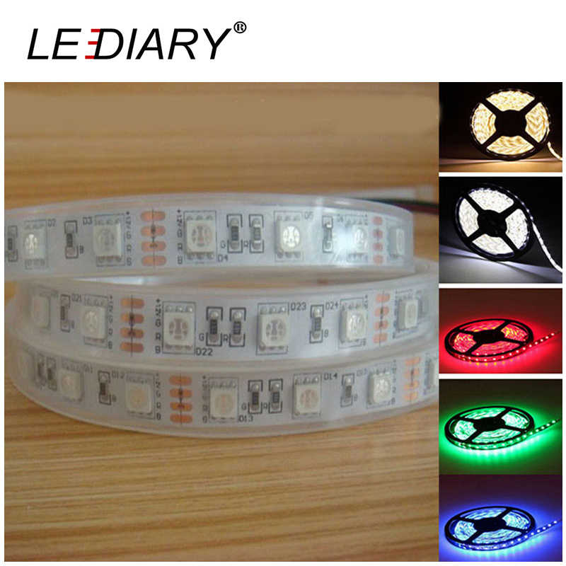 LEDIARY Casing Pipe Strip IP67 300 LED Strip Light 5050 5M 12V Casing Waterproof Christmas/Party/Wedding Decoration Light