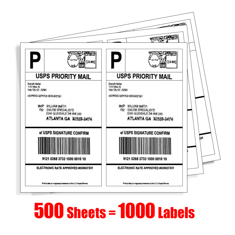 1000 LABEL SELF ADHESIVE STICKY A4 SHEETS ADDRESS LABELS INKJET LASER COPIER PRINTER EBAY AMAZON STICKY ADDRESS POST PACK PAPER address adhesive stickers labels 100 100mm 500 sheets thermal papers for labeling and sealing marks wholesale with a good price