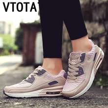 VTOTA Woman Chunky Sneakers Trainers Women Breathable Lace Up 2018 Fashion Autumn Female Platform Casual Desinger Shoes K69