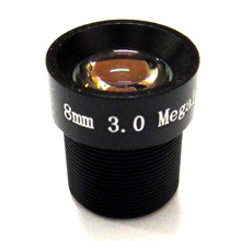 HD 3mp 8mm 40 Degrees Angle IR Board 3.0mp CCTV Lens M12x0.5 for CCD IP camera
