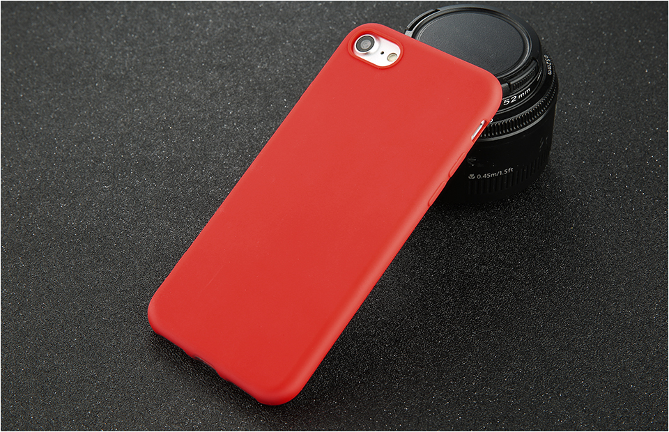 Candy Color Back Cover Case For iPhone 12