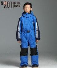 Traje de esquí de invierno para niñas juego de Snowboard para niños Mono de esquí térmico para niños traje deportivo para niñas chaqueta de esquí para niños impermeable 2 14T