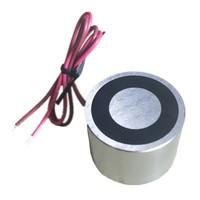 1 350KG Electromagnet Pulling Force Dia 12 150mm Solenoid 12V 24V DC Input Strong Lifting Magnetic Controller Low Consumption
