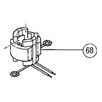 Martillo giratorio de 220 V-240 V para Hitachi 340451 K 340451F DH25PB DH25PA