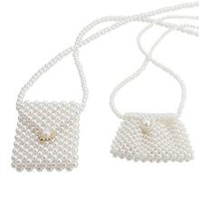 mini pearl bag beaded crystal clutch evening bag luxury handbags women bags designer shoulder crossbody bag messenger coin purse цена