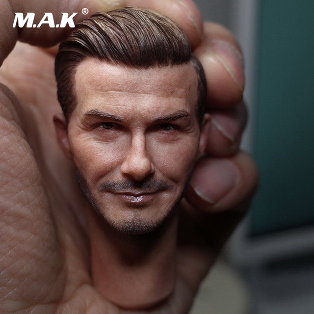 David Beckham Head Sculpt 1/6 Scale Male Head Model for 12'' Action Figure Toys Collection Head Accessory