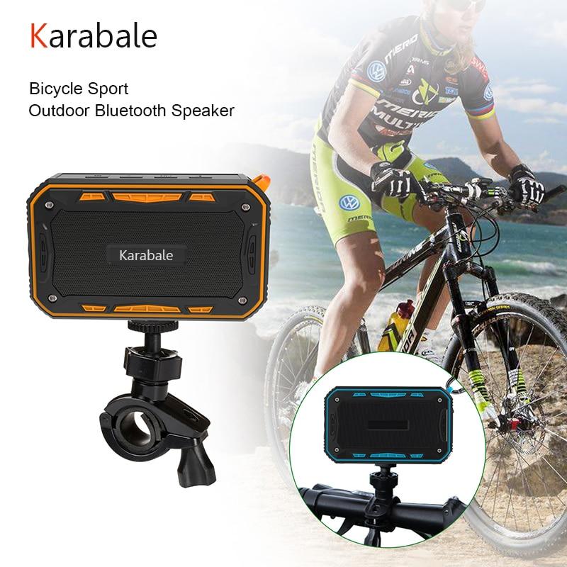 Outdoor Waterproof Bike Wireless Bluetooth Speaker Deep Bass Portable Professional Bicycle Sport Speaker Mp3 Player With Mic FM