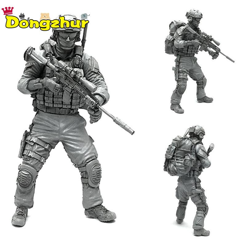 1/35 Modern U.S Army Special Forces Scout Individual Soldier <font><b>Resin</b></font> Model <font><b>Figure</b></font> Kit AH-01 image