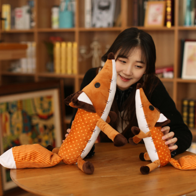 1pcs 영화 르 쁘띠 프린스 리틀 프린스와 폭스 박제 - 동물 인형 - 사진 6