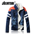 Jolintsai Denim Jacket Men 2017 Jeans Jacket Autumn Spring Coat Cowboy Style Mens Jackets Puls Size M- 5XL Jaqueta Masculina