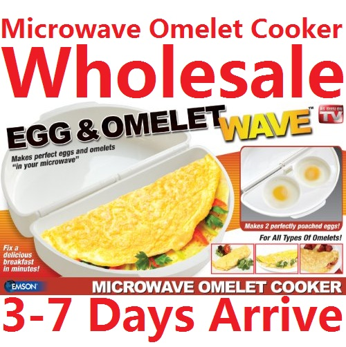 100sets Whole Microwave Egg Omelette Maker Cooker Pan Mold Cooking Tools Kitchen Gadgets As Seen