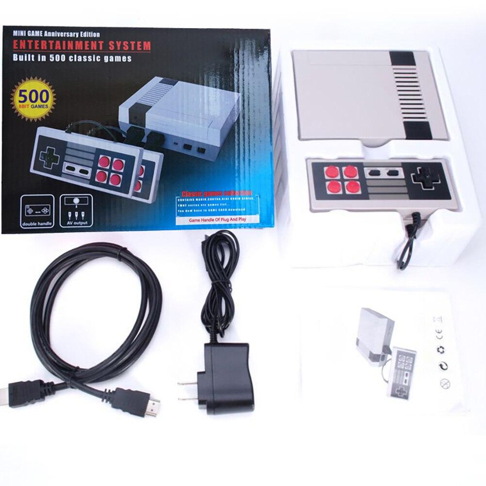 Game Machine HDMI/AV Output Retro Classic Handheld Player TV Video Console Childhood Built-in 600 Games Mini