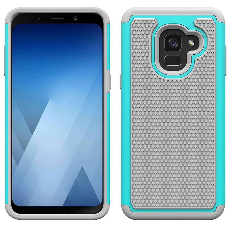 For <font><b>Samsung</b></font> Galaxy A8 2018 Case Rubber Silicone Armor Defender Shockproof Hard Back <font><b>Cover</b></font> Case For <font><b>Samsung</b></font> Galaxy A8 2018 <font><b>A530F</b></font> image