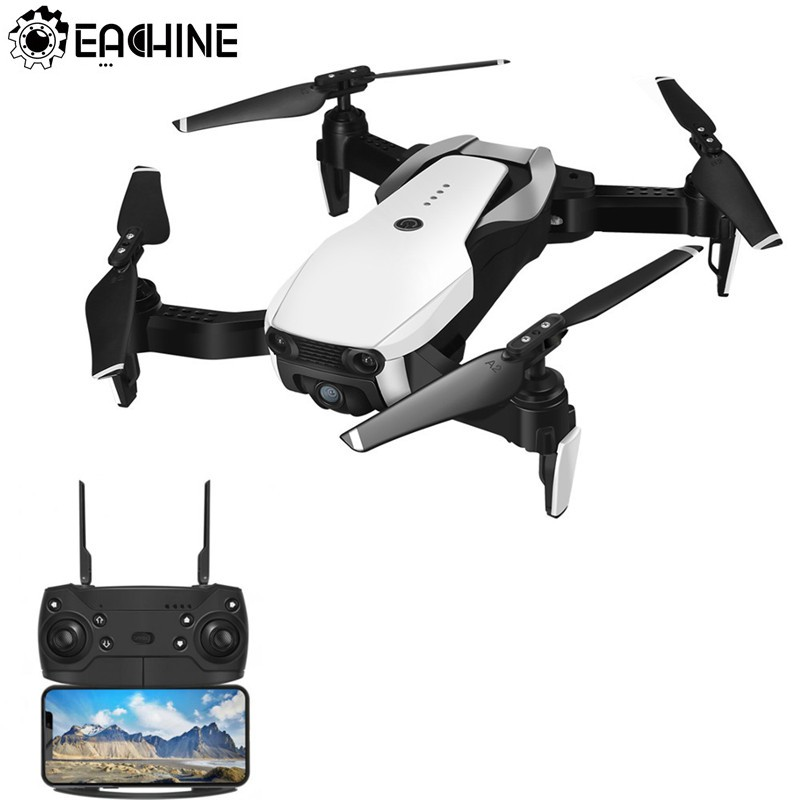 Eachine E511-Модернизированный E58 WI-FI FPV с 1080 P/720 P HD Камера Headless режим 16 минут время полета Складная RC Drone Quadcopter
