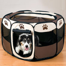 NEW HOT SALE Pet Comfort Carrier Products Baby Puppy Dog Bed House Playpen fence for dogs cats Exercise Kennel Pet tent(China)