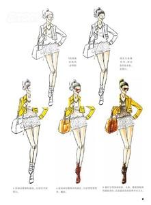 Image 2 - 중국어 컬러 펜 연필 수채화 그림 수동 패션 효과 그리기 색칠 공부 책