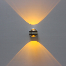 Modern 2W 6W LED Aluminium Wall Light Rail Project Adjustable LED Crystal Sconce Art Background Wall Lamps for Living room Stair simple modern 6w lampada led aluminium wall light rail project square led wall lamp bedside room bedroom wall lamps arts