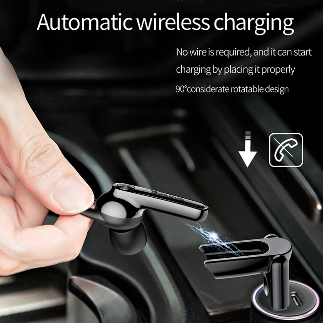 Baseus TWS Wireless Stereo Bluetooth Earphone Magnetic Charging Stand