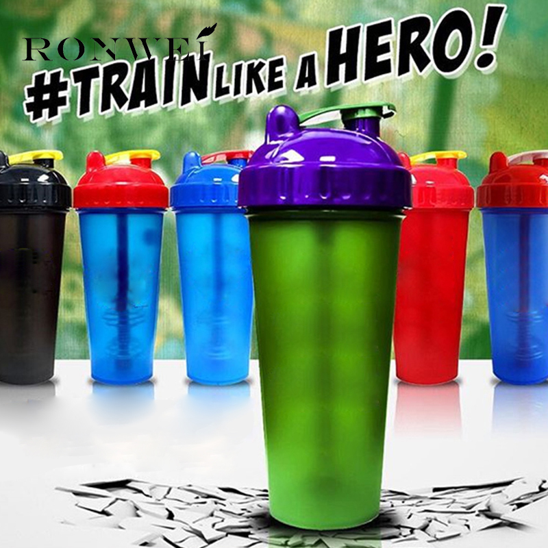 New Protein Shaker Mixer <font><b>Bottle</b></font> Sports Fitness Gym Special Whey Protein Shaker Milk Shaker Hero <font><b>Bottle</b></font> BAP Free Dropshipping