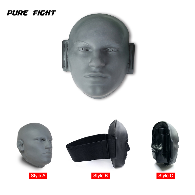 New Style Pro Vivid Human Face Boxing Kicking Target Rubber Taekwondo Training Equipment MMA Punching Mitts Kick Mitts suotf adult fitness boxing pear sports punching bag martial arts supplies boxing speed ball punching bag excercise equipment