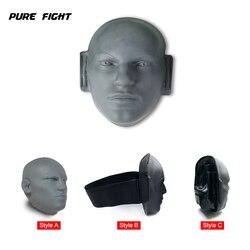 W nowym stylu Pro żywe ludzkie twarz boks kopanie cel gumowy sprzęt do treningu Taekwondo MMA wykrawania Mitts Kick Mitts